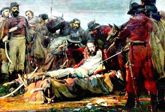 Resultado de imagen para la muerte de guemes